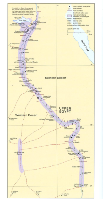 Geography Of Ancient Egypt Ancient Egypt - Map of egypt eastern desert